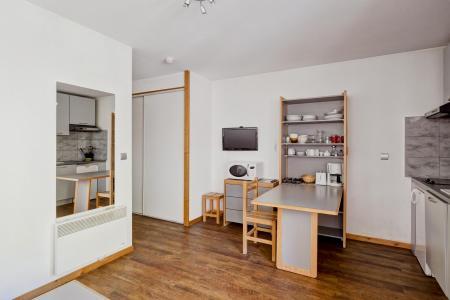 Аренда на лыжном курорте Квартира студия для 2 чел. (118) - Résidence le Grand Chalet - Brides Les Bains - Салон