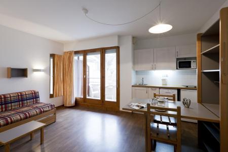 Location au ski Studio 2 personnes (222) - Residence Le Grand Chalet - Brides Les Bains - Séjour