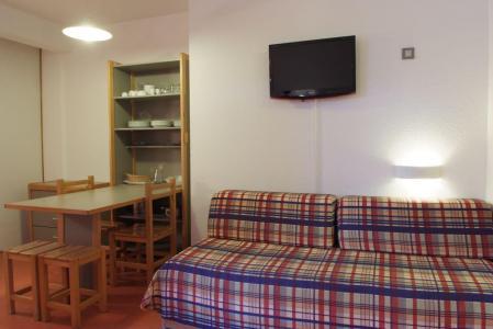 Аренда на лыжном курорте Квартира студия для 4 чел. (220) - Résidence le Grand Chalet - Brides Les Bains - Раскладной диван