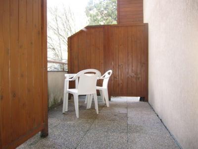 Location au ski Studio 4 personnes (220) - Résidence le Grand Chalet - Brides Les Bains - Balcon