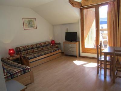 Location au ski Studio 4 personnes (509) - Residence Le Grand Chalet - Brides Les Bains - Canapé-gigogne