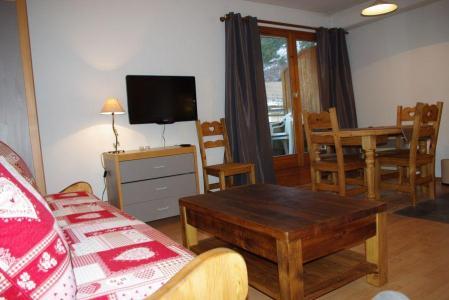 Location au ski Studio cabine 5 personnes (301) - Residence Le Grand Chalet - Brides Les Bains - Tv à écran plat
