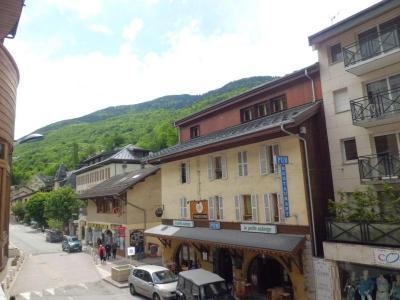 Location au ski Studio coin montagne 4 personnes (109) - Residence Le Grand Chalet - Brides Les Bains - Canapé