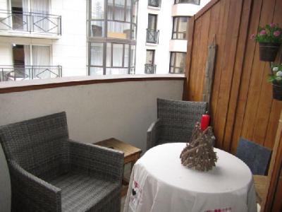 Location au ski Studio coin montagne 4 personnes (204) - Residence Le Grand Chalet - Brides Les Bains - Balcon