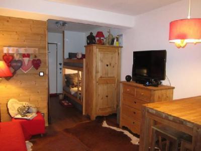 Location au ski Studio coin montagne 4 personnes (204) - Residence Le Grand Chalet - Brides Les Bains - Coin séjour