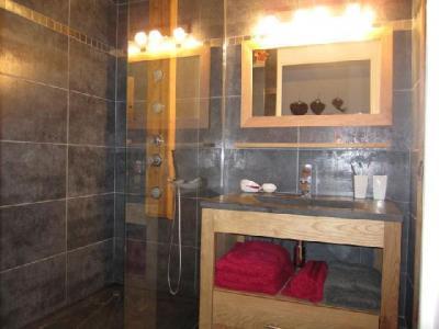 Location au ski Studio coin montagne 4 personnes (204) - Residence Le Grand Chalet - Brides Les Bains - Salle d'eau