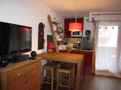 Location au ski Studio coin montagne 4 personnes (204) - Residence Le Grand Chalet - Brides Les Bains - Séjour
