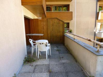 Location au ski Studio coin montagne 4 personnes (218) - Residence Le Grand Chalet - Brides Les Bains - Table et chaises de jardin