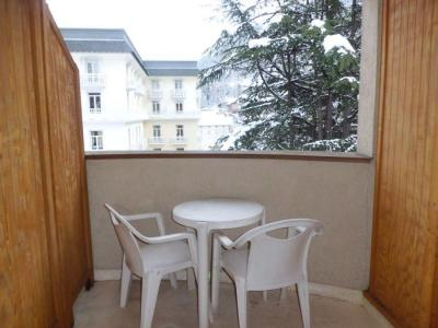 Location au ski Studio coin montagne 4 personnes (315) - Residence Le Grand Chalet - Brides Les Bains - Balcon