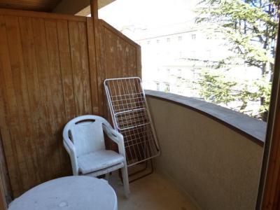 Аренда на лыжном курорте Квартира студия со спальней для 4 чел. (311) - Résidence le Grand Chalet - Brides Les Bains - Балкон