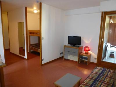 Аренда на лыжном курорте Квартира студия со спальней для 4 чел. (311) - Résidence le Grand Chalet - Brides Les Bains - Телевизор
