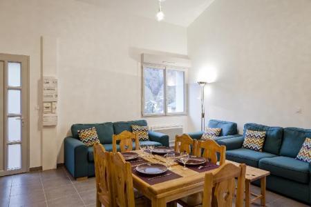 Rent in ski resort 3 room mezzanine apartment 6 people (05) - Résidence les Balcons de Bellecombe - Brides Les Bains