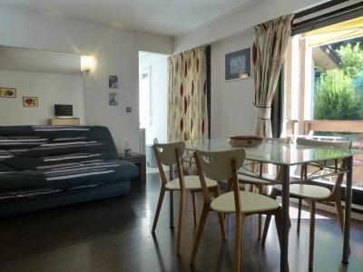 Location au ski Studio coin montagne 4 personnes (B11) - Residence Roseland - Brides Les Bains - Canapé-lit