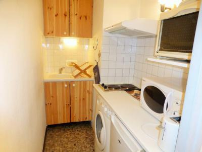 Location au ski Studio 2 personnes (302) - Résidence Royal - Brides Les Bains - Kitchenette