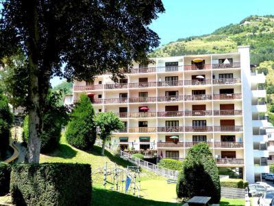 Location au ski Studio coin montagne 5 personnes (506) - Residence Royal - Brides Les Bains - Salle de bains