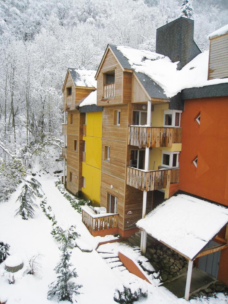 Wynajem na narty Résidence Lagrange le Domaine des 100 Lacs - Cauterets - Zima na zewnątrz