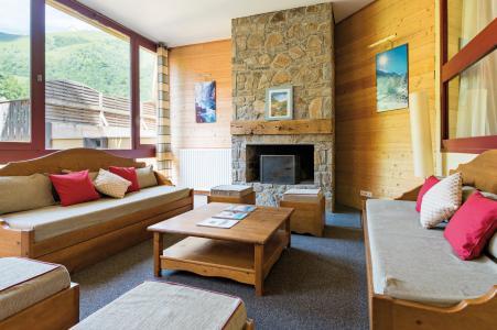 Location au ski Résidence Lagrange le Domaine des 100 Lacs - Cauterets - Réception