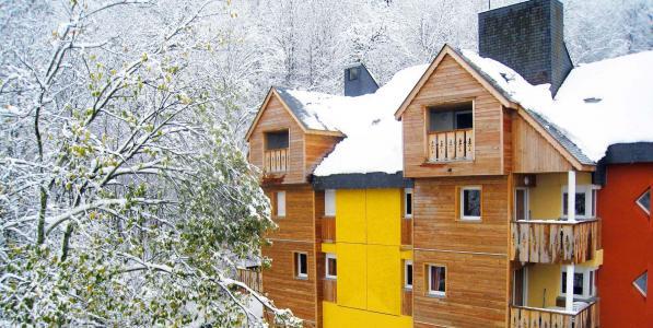 Location au ski Résidence Lagrange le Domaine des 100 Lacs - Cauterets - Extérieur hiver