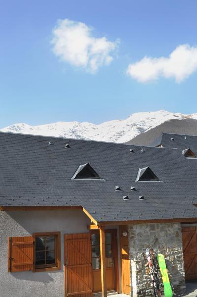 Location au ski Residence Les Chalets D'estive - Cauterets - Extérieur hiver