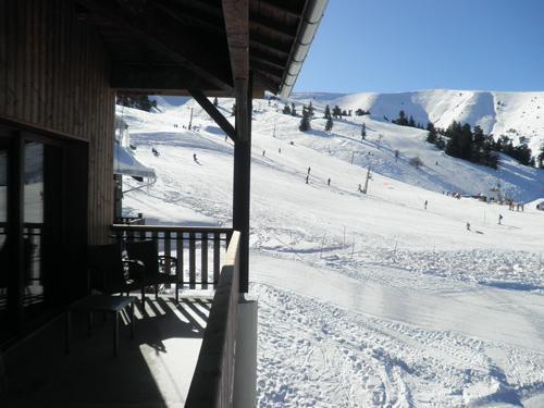 Location au ski Residence Les Blanches Provencales - Chabanon-Selonnet - Extérieur hiver