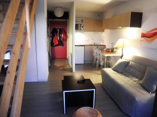 Location au ski Residence Les Blanches Provencales - Chabanon-Selonnet - Séjour
