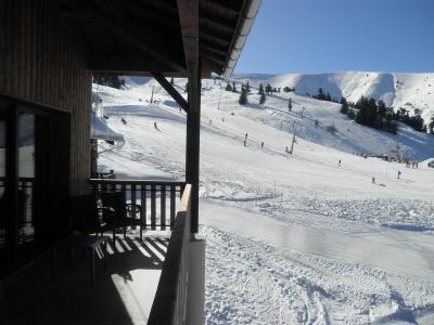 Location au ski Résidence les Blanches Provençales - Chabanon-Selonnet - Extérieur hiver