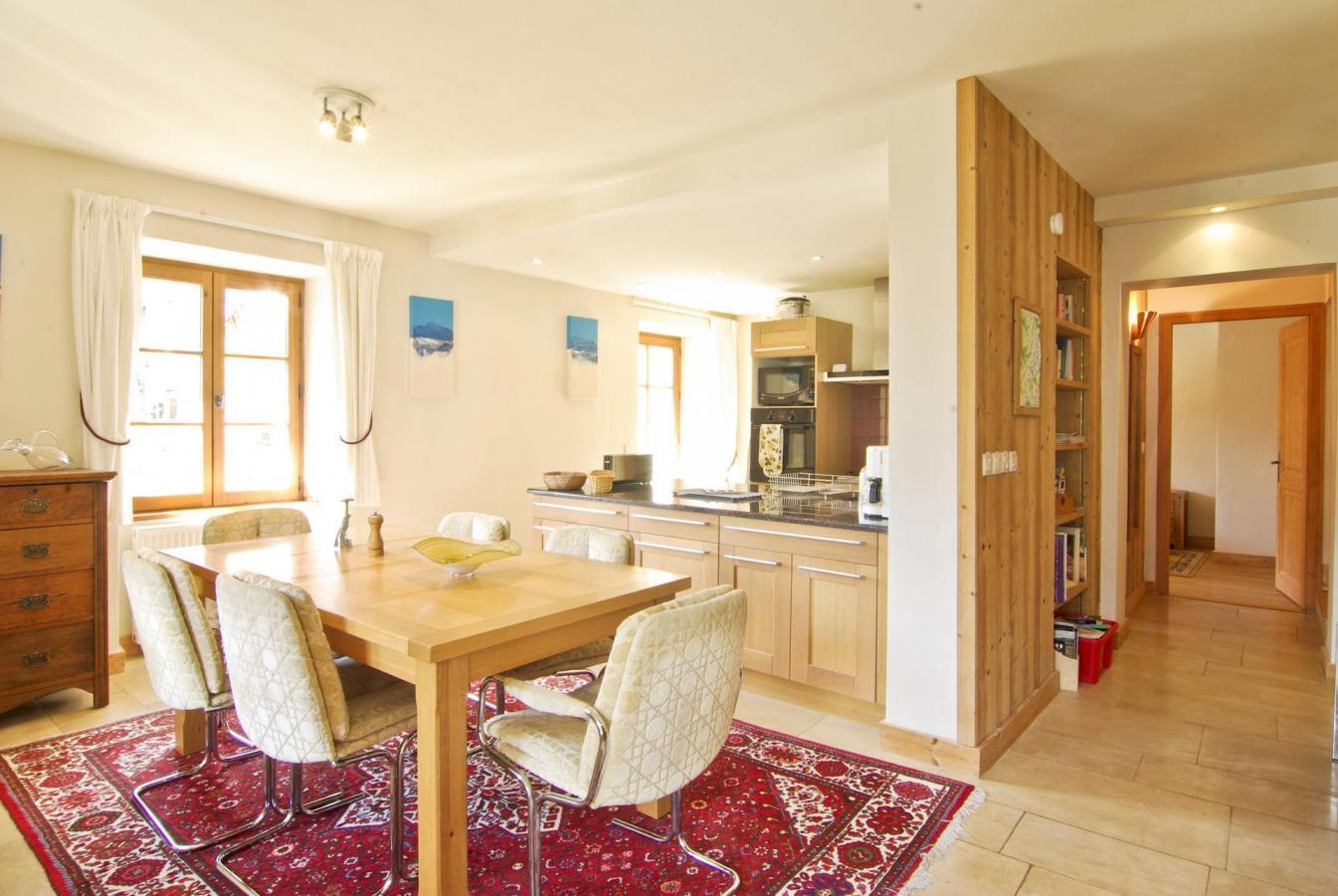 Location au ski Appartement 4 pièces 6 personnes - Chalet Ambre - Chamonix - Salle à manger