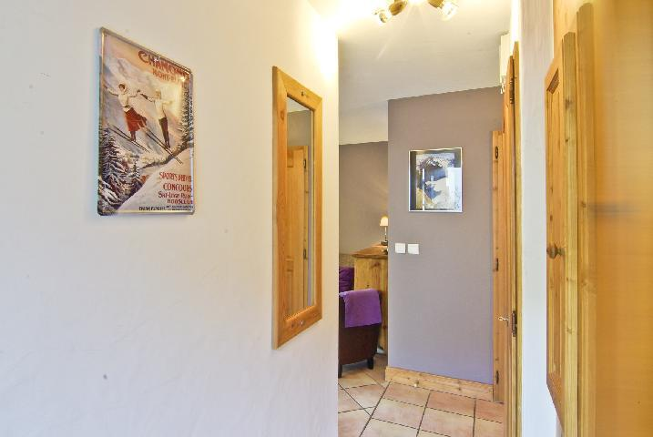 Location au ski Appartement 3 pièces 6 personnes - Chalet Clos Des Etoiles - Chamonix - Salle de bains