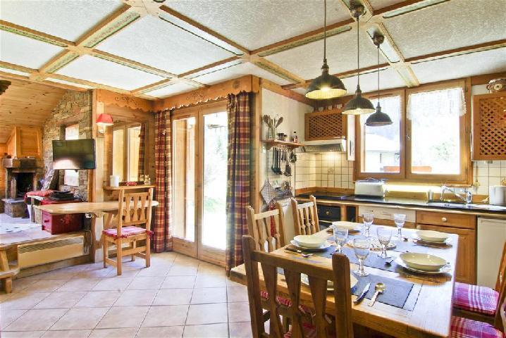 Location au ski Appartement 3 pièces 4 personnes (PIC) - Chalet Le Col Du Dome - Chamonix - Séjour