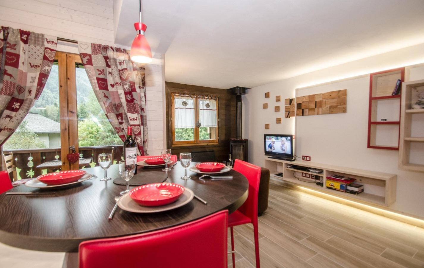Location au ski Appartement 3 pièces 6 personnes (GOLF ) - Chalet Le Col Du Dome - Chamonix - Séjour