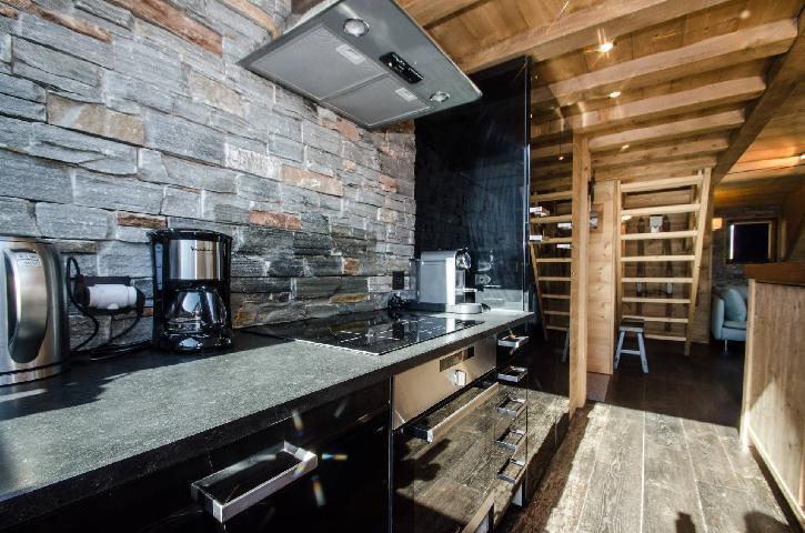 Location au ski Appartement 3 pièces cabine mezzanine 8 personnes - Chalet Maya - Chamonix - Cuisine
