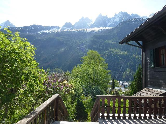 Location au ski Studio 2 personnes (Cerise) - Chalet Maya - Chamonix - Salle d'eau
