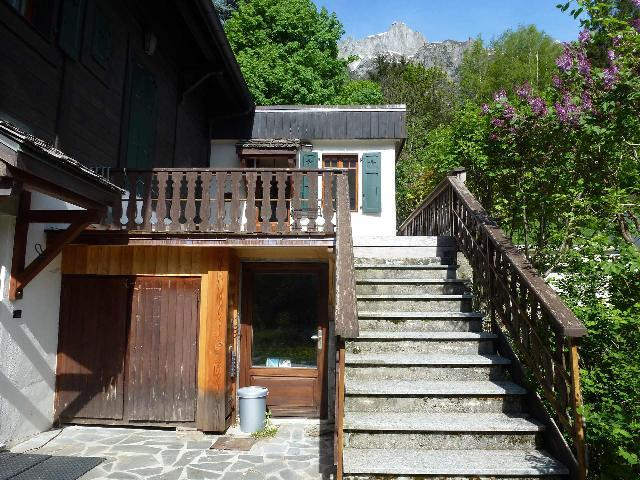 Location au ski Studio 2 personnes (Cerise) - Chalet Maya - Chamonix - Séjour