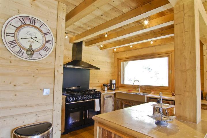 Location au ski Chalet 6 pièces 10 personnes - Chalet Peyrlaz - Chamonix - Meuble vasque