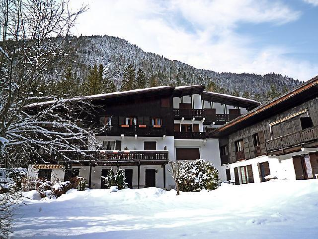 Ski en avril Les Charmoz
