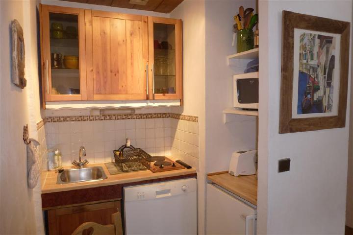 Location au ski Studio 3 personnes (Kira) - Residence Carlton - Kira - Chamonix - Séjour