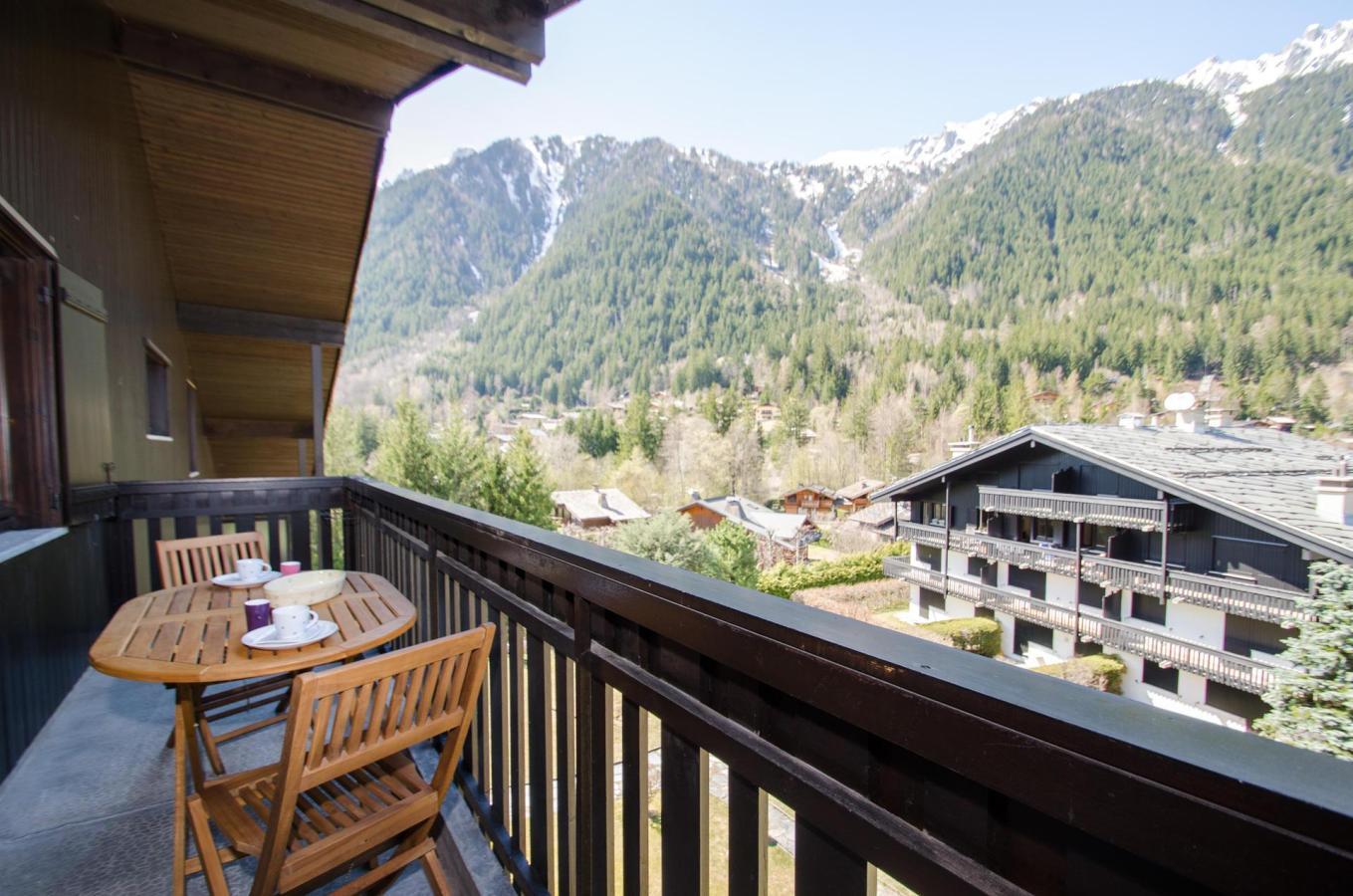 Location au ski Appartement 2 pièces 4 personnes (petra ) - Residence Champraz - Chamonix - Kitchenette