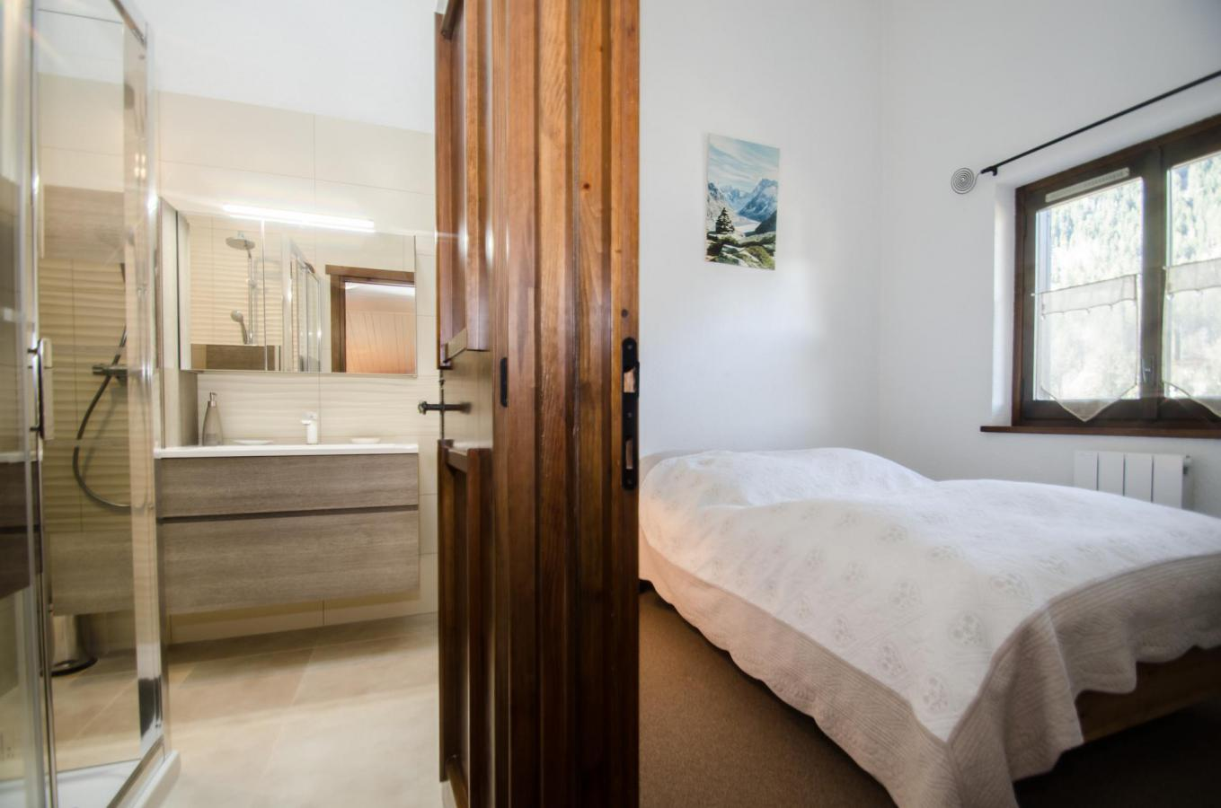 Location au ski Appartement 2 pièces 4 personnes (petra ) - Residence Champraz - Chamonix - Lit double