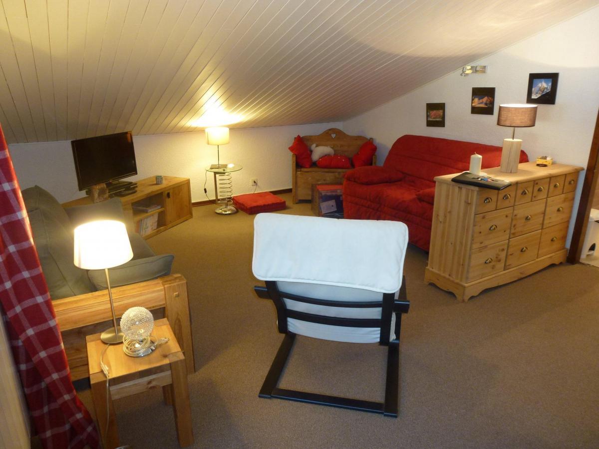 Location au ski Appartement 2 pièces 4 personnes (petra ) - Residence Champraz - Chamonix - Séjour