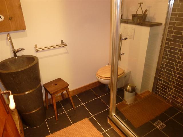 Location au ski Appartement 2 pièces 4 personnes (icone) - Residence Le Majestic - Chamonix - Salle de bains
