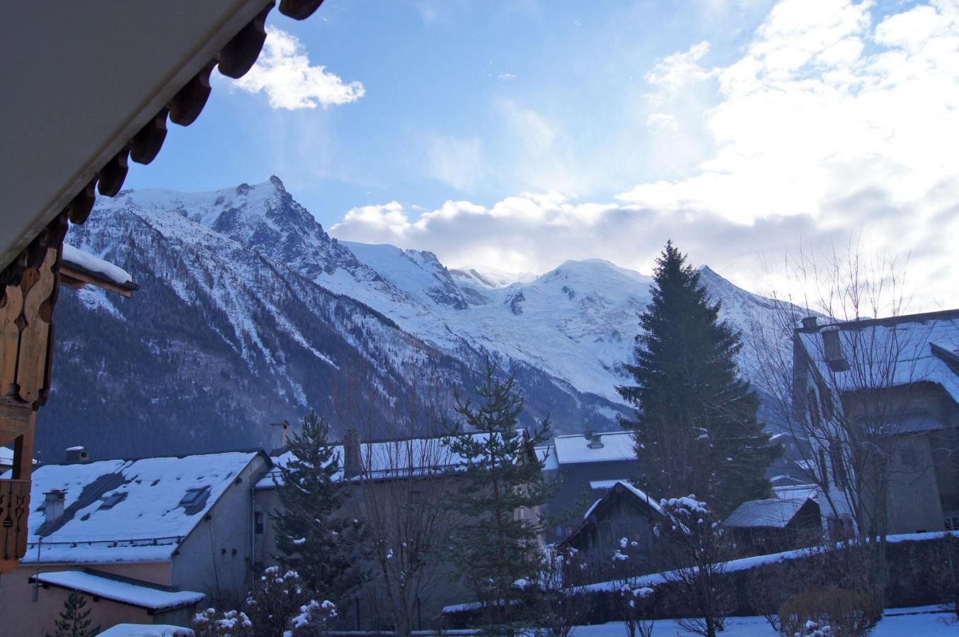 Location au ski Appartement 5 pièces 8-8 personnes - Residence Les Chalets Du Savoy - Orchidee - Chamonix - Extérieur hiver