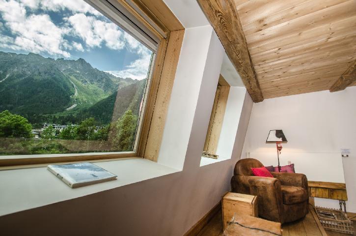 Location au ski Appartement 3 pièces 5-5 personnes - Residence Lyret 1 - Chamonix - Salle de bains