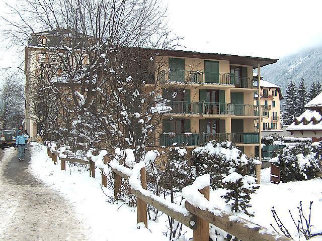 Location au ski Appartement 2 pièces 3 personnes (1) - Blanc Neige - Chamonix - Extérieur hiver