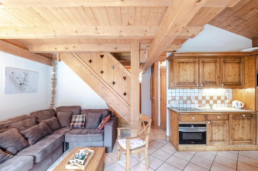 Location au ski Appartement 4 pièces 8 personnes - Chalet Clos des Etoiles - Chamonix - Cuisine