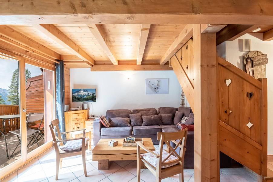 Location au ski Appartement 4 pièces 8 personnes - Chalet Clos des Etoiles - Chamonix - Séjour