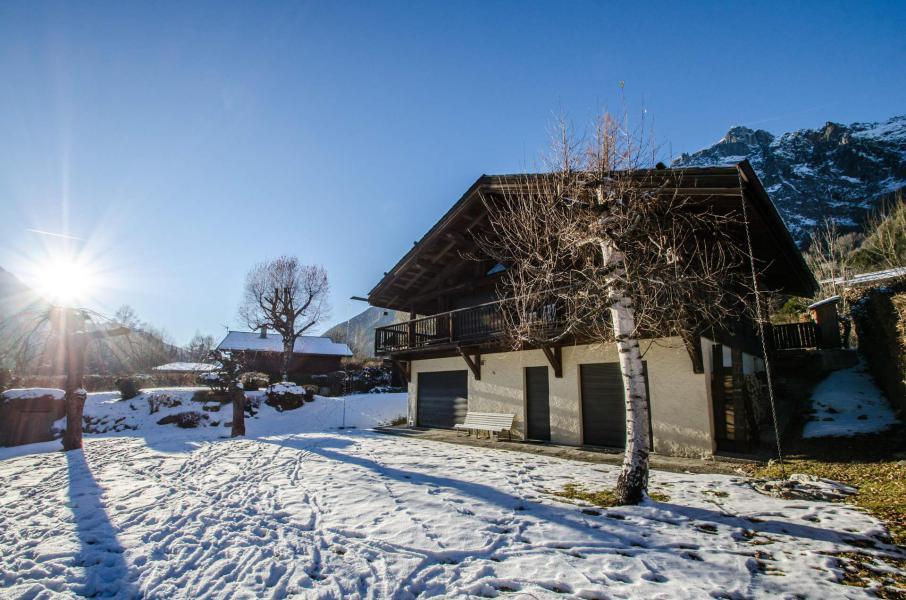Vacances en montagne Chalet Eole - Chamonix - Extérieur hiver
