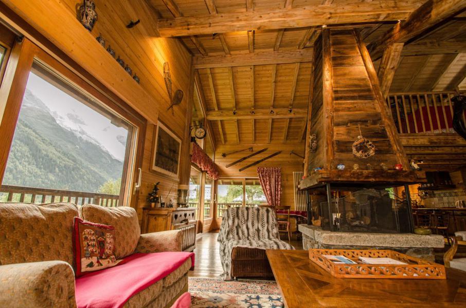 Аренда на лыжном курорте Шале 5 комнат 8 чел. - Chalet Eole - Chamonix - Салон