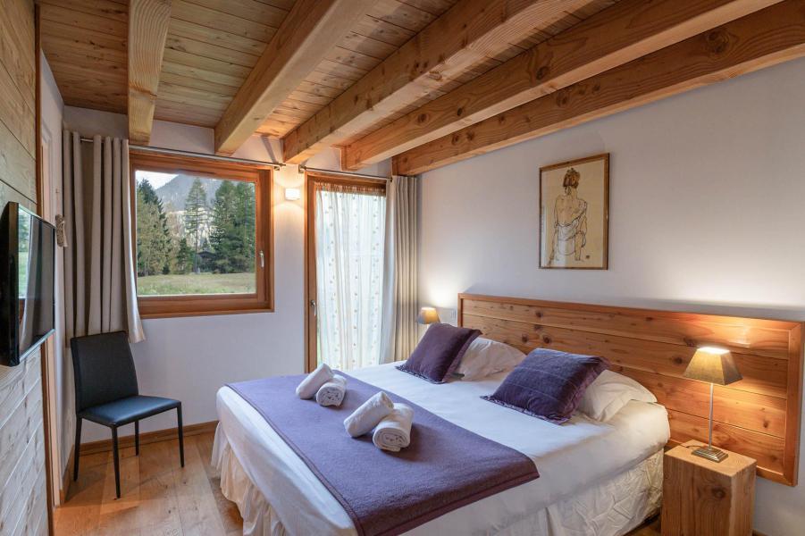 Location au ski Chalet 5 pièces 8 personnes - Chalet Gaia - Chamonix - Chambre