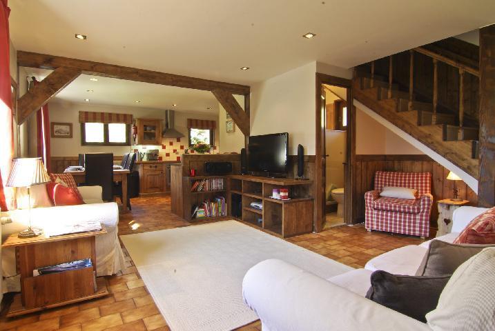 Wynajem na narty Domek górski 4 pokojowy 6 osób (bediere) - Chalet Griotte - Chamonix - Pokój gościnny