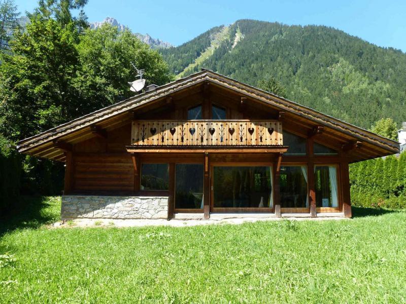 Location au ski Chalet duplex 3 pièces 4 personnes - Chalet June - Chamonix - Canapé
